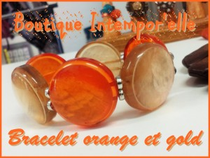 Les prémices de l'automne bracelet-orange-et-gold-300x225