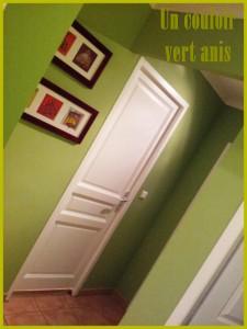 couloir-vert-anis-225x300 couloir dans Rénovation de la maison