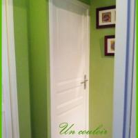 Dans le couloir Vert anis