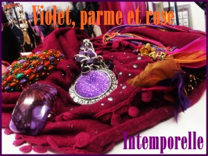 Aparté en couleurs chaudes violet-parme-rose-300x225